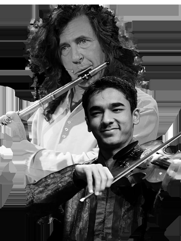 Jorge Pardo y Ambi Subramaniam